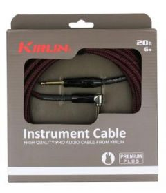 CABLE KIRLIN 6M JACK JACK COUDE